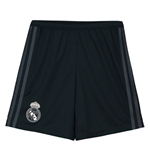 2018-2019 Real Madrid Adidas Away Shorts (Grey) - Kids
