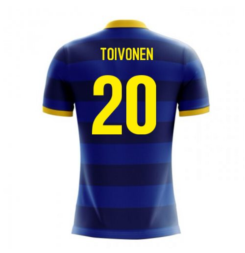 2018-2019 Sweden Airo Concept Away Shirt (Toivonen 20) - Kids