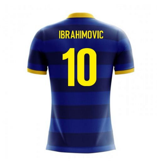 2018-2019 Sweden Airo Concept Away Shirt (Ibrahimovic 10) - Kids