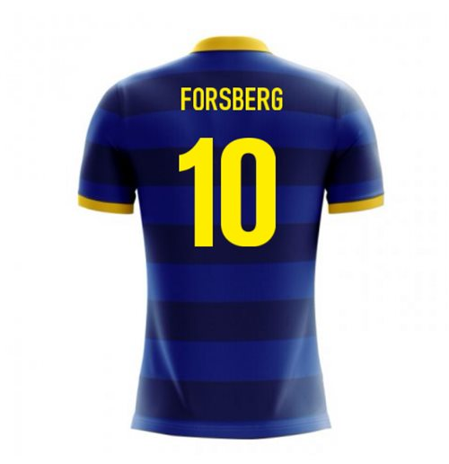 2018-2019 Sweden Airo Concept Away Shirt (Forsberg 10) - Kids