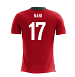 2018-2019 Portugal Airo Concept Home Shirt (Nani 17) - Kids
