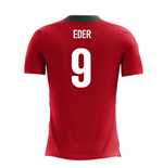 2018-2019 Portugal Airo Concept Home Shirt (Eder 9)