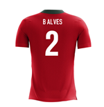 2018-2019 Portugal Airo Concept Home Shirt (B Alves 2)