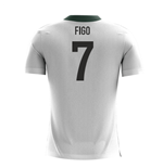 2018-2019 Portugal Airo Concept Away Shirt (Figo 7) - Kids