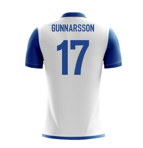 factory price 3eb9c 29bd1 2018-19 Iceland Airo Concept Away Shirt (Gunnarsson 17)