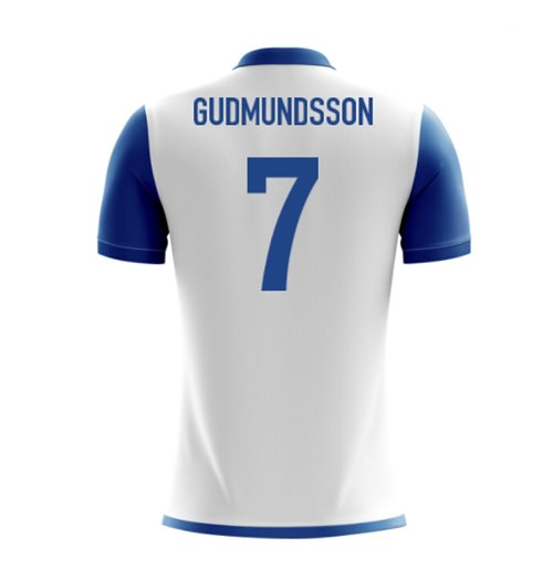 2018-19 Iceland Airo Concept Away Shirt (Gudmundsson 7) - Kids