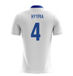 2018-19 Finland Airo Concept Home Shirt (Hyypia 4)