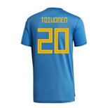 2018-2019 Sweden Training Jersey (Trace Royal) (Toivonen 20)