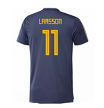 2018-2019 Sweden Training Jersey (Noble Indigo) (Larsson 11)