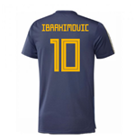2018-2019 Sweden Training Jersey (Noble Indigo) (Ibrahimovic 10)