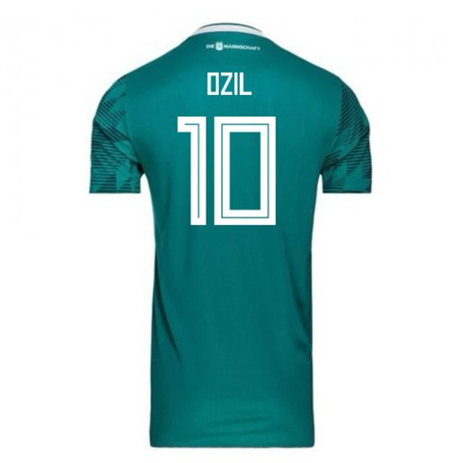 2018-2019 Germany Away Adidas Football Shirt (Ozil 10) - Kids