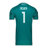 2018-2019 Germany Away Adidas Football Shirt (Neuer 1)