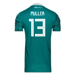 2018-2019 Germany Away Adidas Football Shirt (Muller 13)