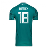 2018-2019 Germany Away Adidas Football Shirt (Kimmich 18)