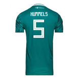 2018-2019 Germany Away Adidas Football Shirt (Hummels 5)