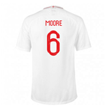 2018-2019 England Home Nike Football Shirt (Moore 6)