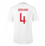 2018-2019 England Home Nike Football Shirt (Gerrard 4) - Kids