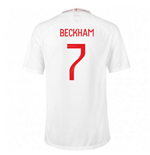 2018-2019 England Home Nike Football Shirt (Beckham 7) - Kids