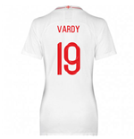 2018-2019 England Home Nike Womens Shirt (Vardy 11)