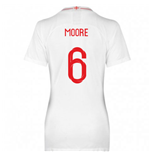 2018-2019 England Home Nike Womens Shirt (Moore 6)