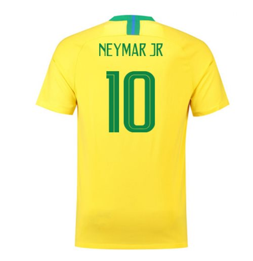 2018-2019 Brazil Home Nike Football Shirt (Neymar Jr 10)