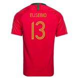 2018-2019 Portugal Home Nike Football Shirt (Eusebio 13)