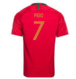 2018-2019 Portugal Home Nike Football Shirt (Figo 7)