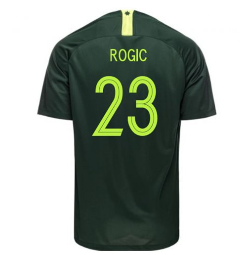 2018-2019 Australia Away Nike Football Shirt (Rogic 23)