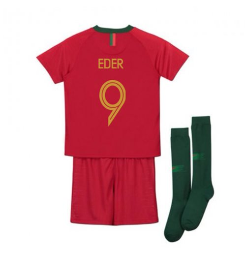 2018-2019 Portugal Home Nike Mini Kit (Eder 9)