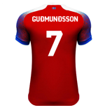 2018-2019 Iceland Third Errea Football Shirt (Gudmundsson 7)
