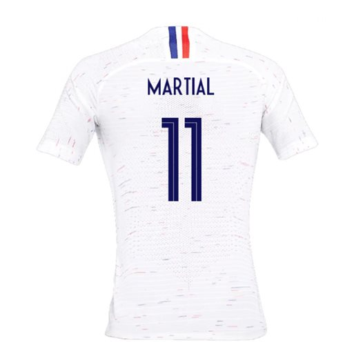 2018-2019 France Away Nike Womens Shirt (Martial 11)