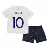 2018-2019 France Away Nike Baby Kit (Zidane 10)