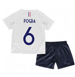 2018-2019 France Away Nike Little Boys Mini Kit (Pogba 6)