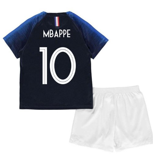 2018-2019 France Home Nike Mini Kit (Mbappe 10)