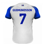 2018-2019 Iceland Away Errea Football Shirt (Gudmundsson 7)