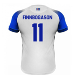 2018-2019 Iceland Away Errea Football Shirt (Finnbogason 11)