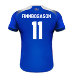 2018-2019 Iceland Home Errea Football Shirt (Finnbogason 11)