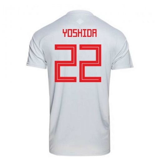 2018-2019 Japan Away Adidas Football Shirt (Yoshida 22)