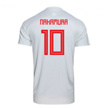 2018-2019 Japan Away Adidas Football Shirt (Nakamura 10)