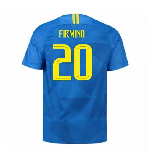 2018-2019 Brazil Away Nike Football Shirt (Firmino 20)