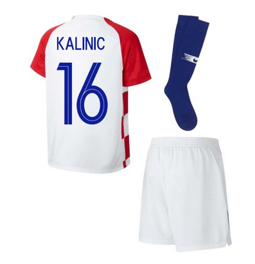 2018-2019 Croatia Home Nike Mini Kit (Kalinic 16)