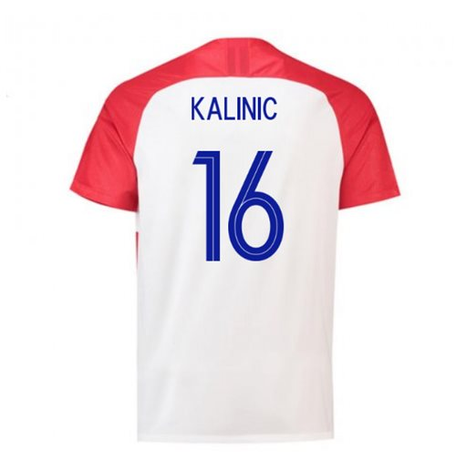 2018-2019 Croatia Home Nike Football Shirt (Kalinic 16)