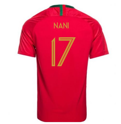 2018-2019 Portugal Home Nike Womens Shirt (Nani 17)