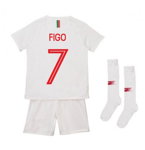 2018-2019 Portugal Away Nike Mini Kit (Figo 7)