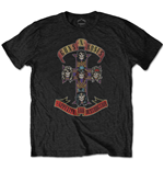 Guns N' Roses Men's Tee: Appetite for Destruction (Retail Pack)