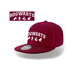 Harry Potter - Hogwarts Snapback Cap - Headwear Red