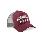 Harry Potter - Hogwarts Trucker Cap - Headwear Red