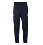 2018-2019 Real Madrid Adidas Training Knitted Presentation Pants (Dark Grey)