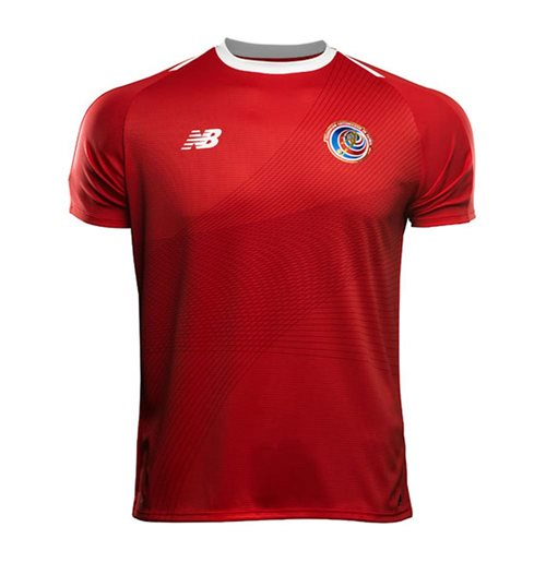 2018-2019 Costa Rica Home Shirt