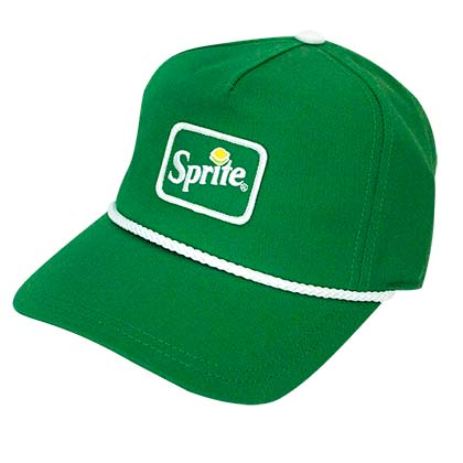 Sprite Logo Soda Men's Green Hat